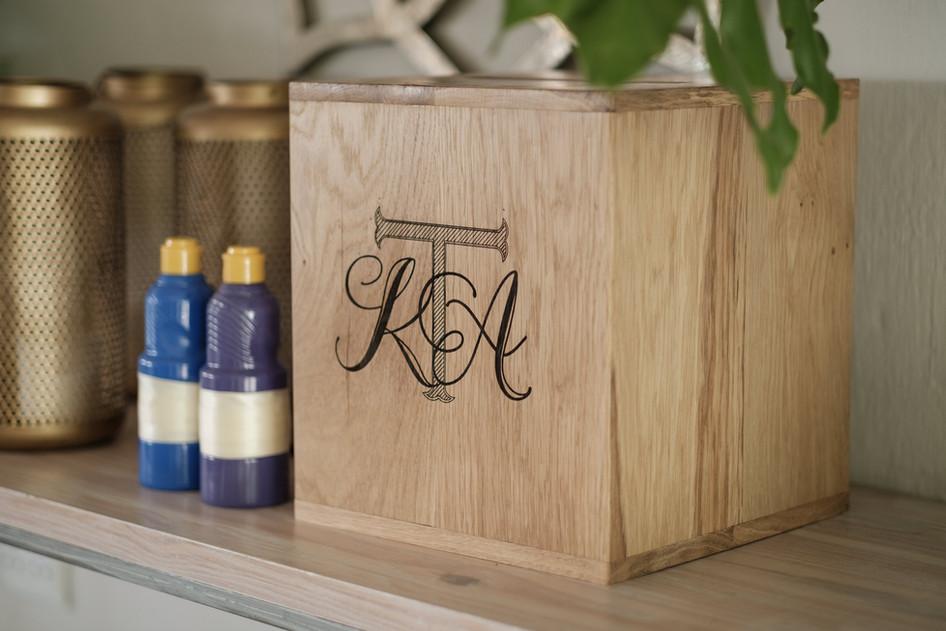 Wood Engraved Box