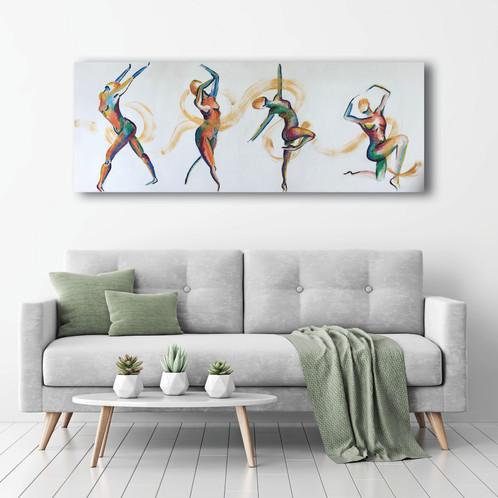 Golden Dancers