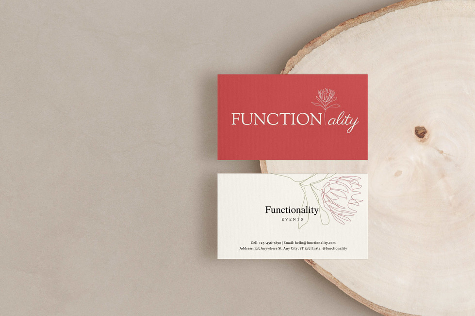 Functionality Business Cards