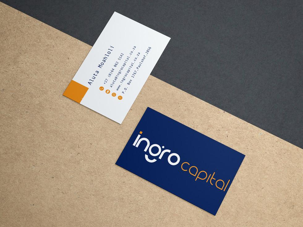 Ingro Capital Business Cards