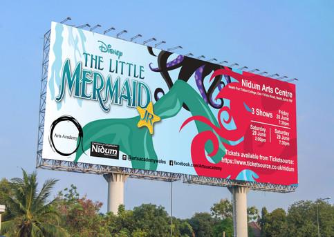 Arts Academy Billboard