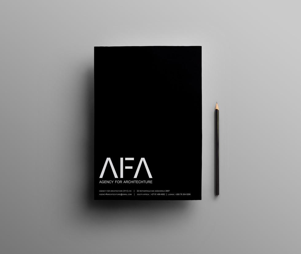 AFA Custom A4 Notepad