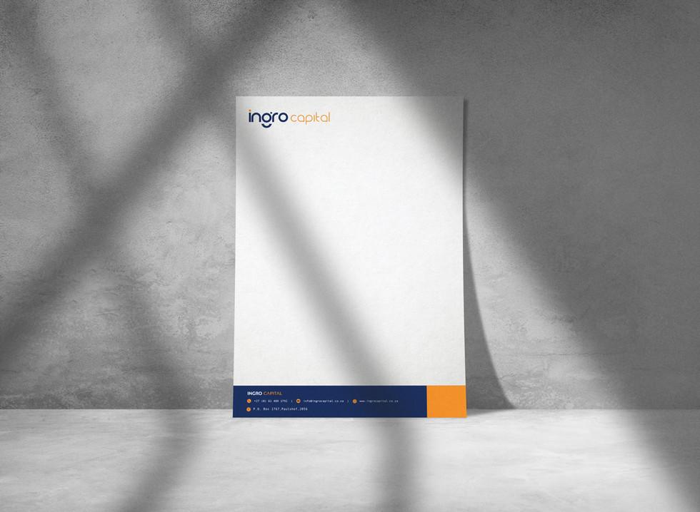 Ingro Capital letterhead