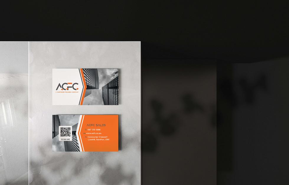 ACFC Business Cards