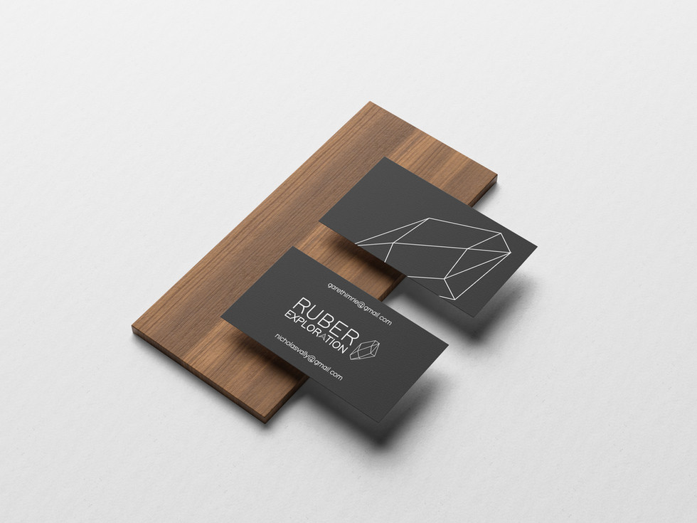 Ruber Exploration Business Cards