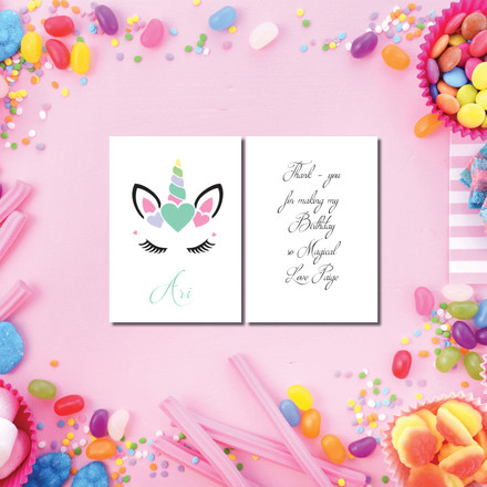 Birthday Party Bag Tags