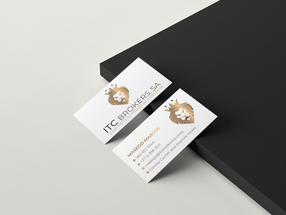ITC Brokers Business Cards