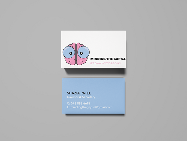 Mind The Gap SA Business Cards