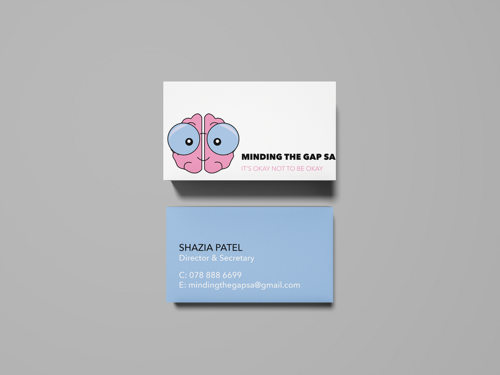 Mind The Gap SA Business Cards
