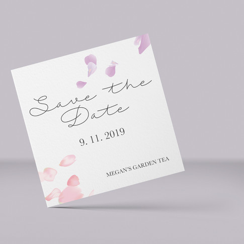 Bridal Shower Save The Date