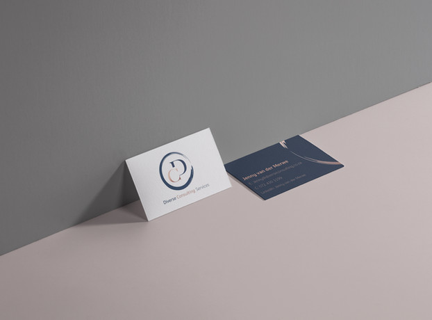 Diverse Consulting Business Cards