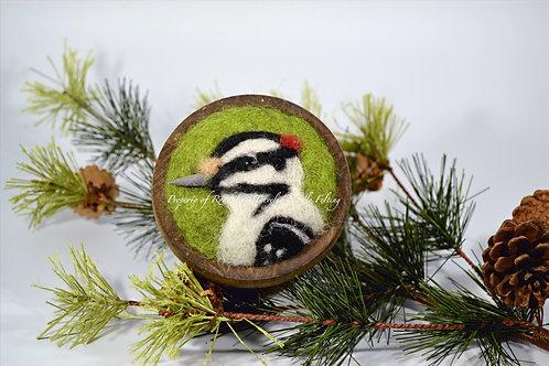 Forest Friendship Box - Hairy Woodpecker