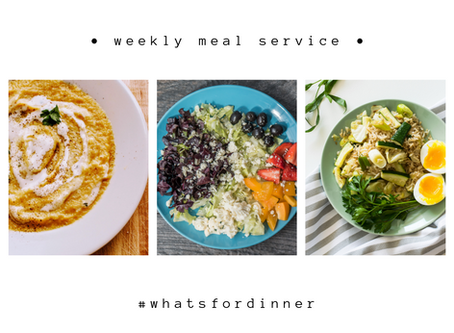 Weekly Meal Service | March 8