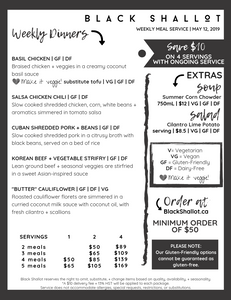 Gluten-friendly, dairy-free, vegetarian and vegan meal delivery in Ottawa