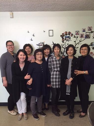 2016년 무궁화학교 선생님들
