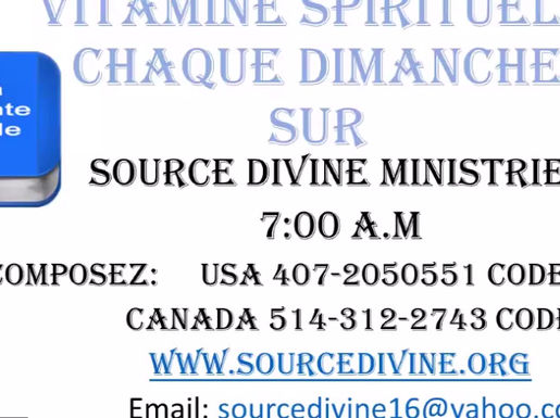 VITAMINE SPIRITUELLE