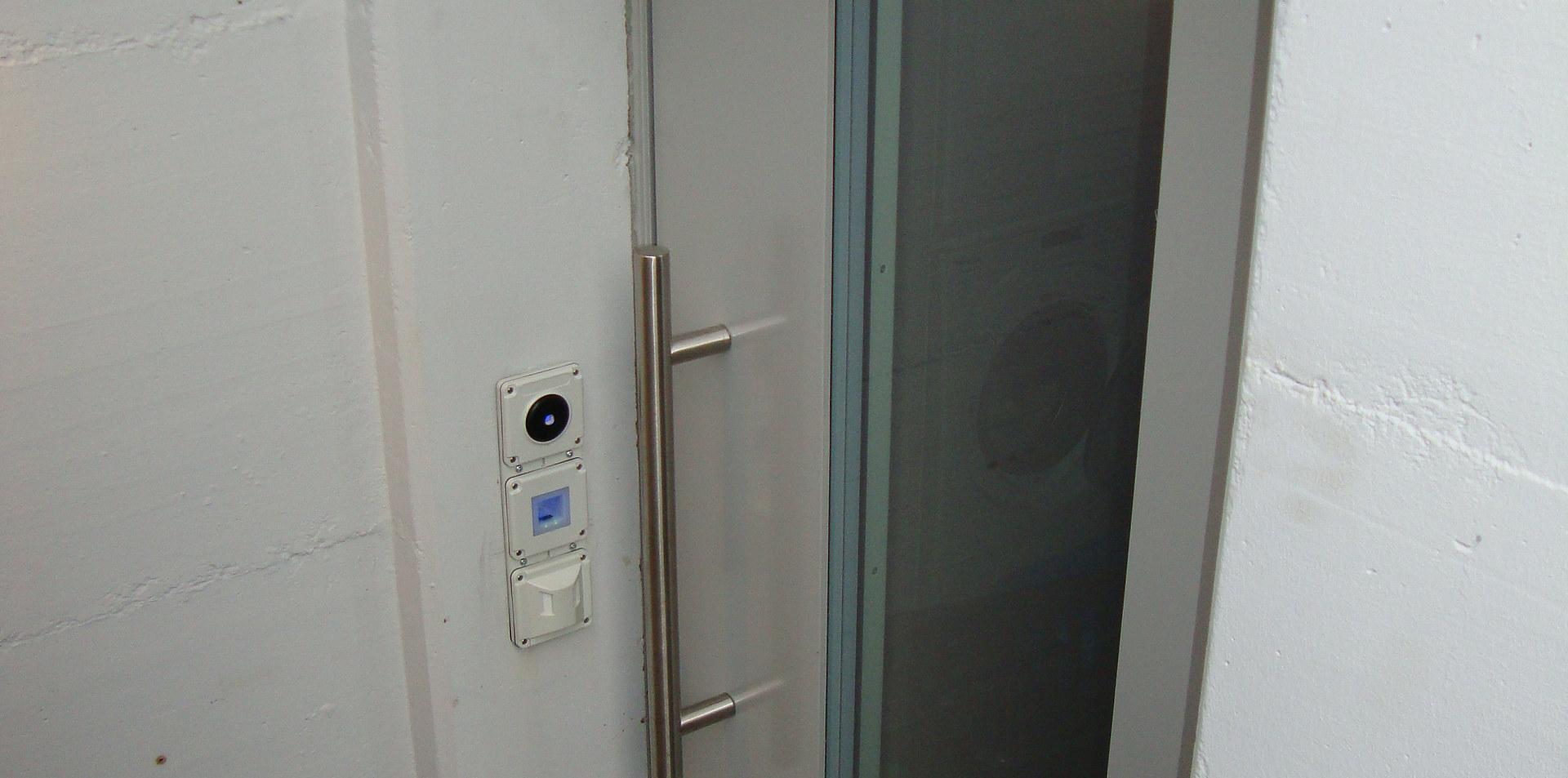 Kellertüre mit Glas in Zofingen