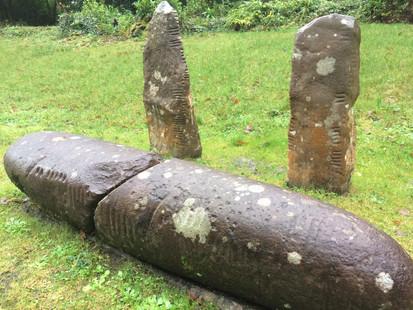 Ogham Stones - Coláiste Íde