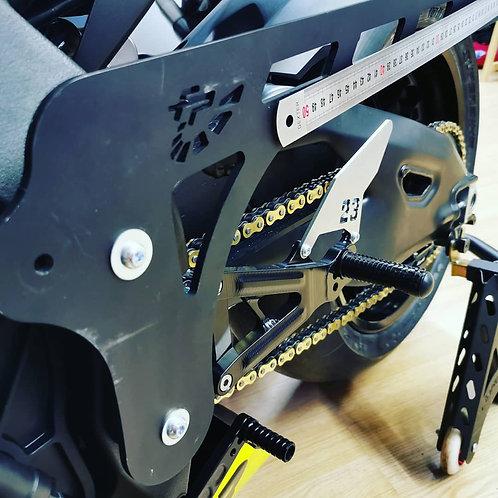 Outil de mesure d'assiette arrière Yamaha R1 2015/2020 Yamaha R6 2006/2020