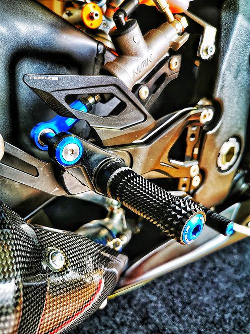 Commandes reculées Reckless Racing Lab YamahaR1/R6