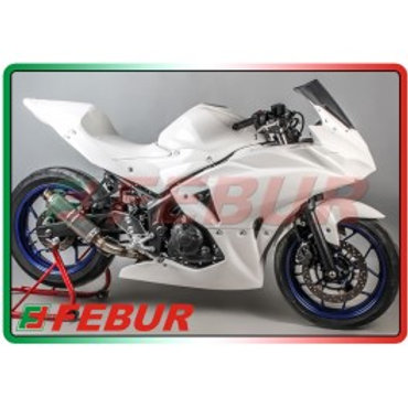 Carenage complet FEBUR Yamaha R3 2015/2017