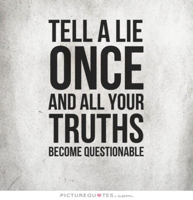 Lie or Truth: Which is Scarier?