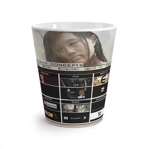 Exposed Latte mug