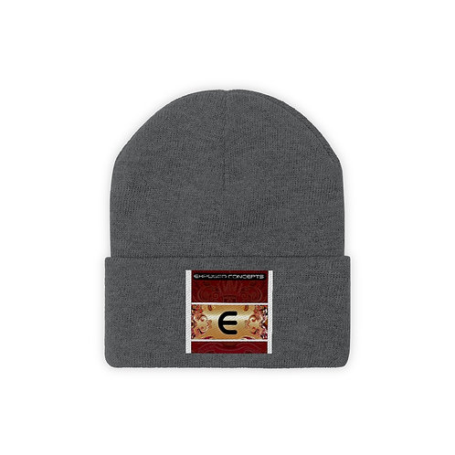 Exposed Knit Beanie