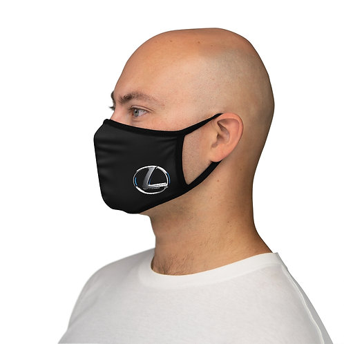 SMALL BLU LOGO Fitted Polyester Face Mask