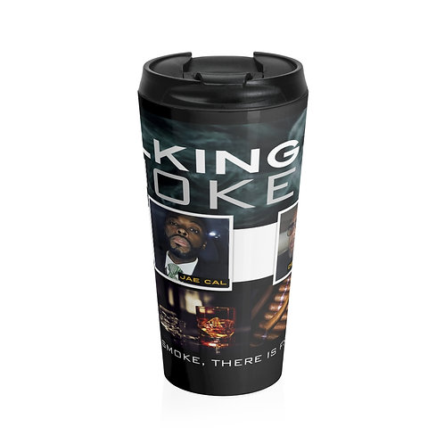 Talking Smoke Burbon Travel Mug