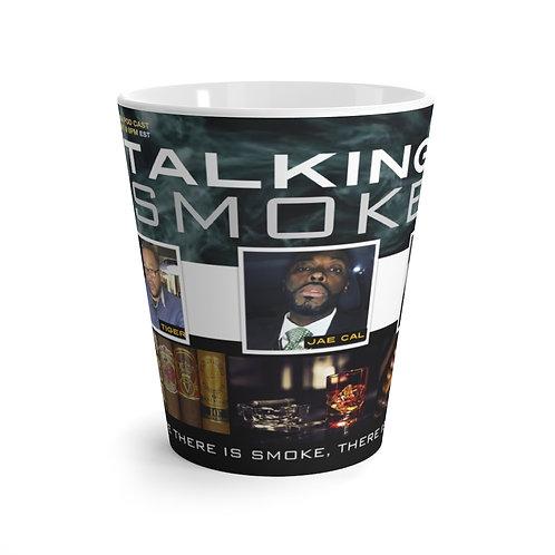 Talking Smoke Latte mug