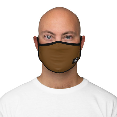 BRONZE PROFESSIONAL Fitted Polyester Face Mask