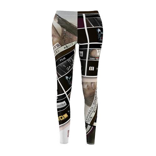 Exposed Women's Cut & Sew Casual Leggings