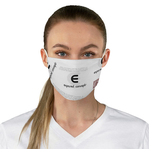 SCANNABLE  MUSIC Fabric Face Mask