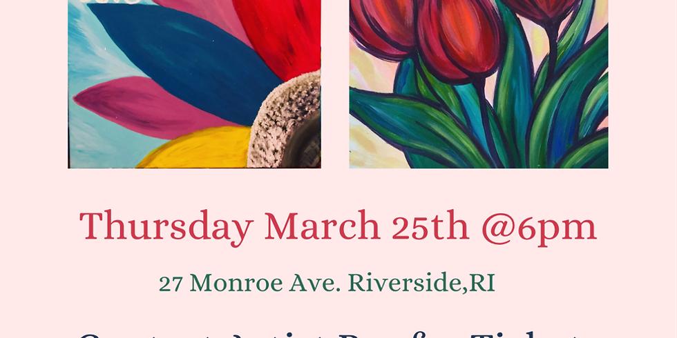 Stevie D's Riverside Paint & Sip Night