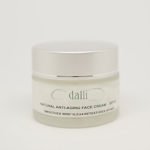 Natural Anti-Aging Face Cream SPF30