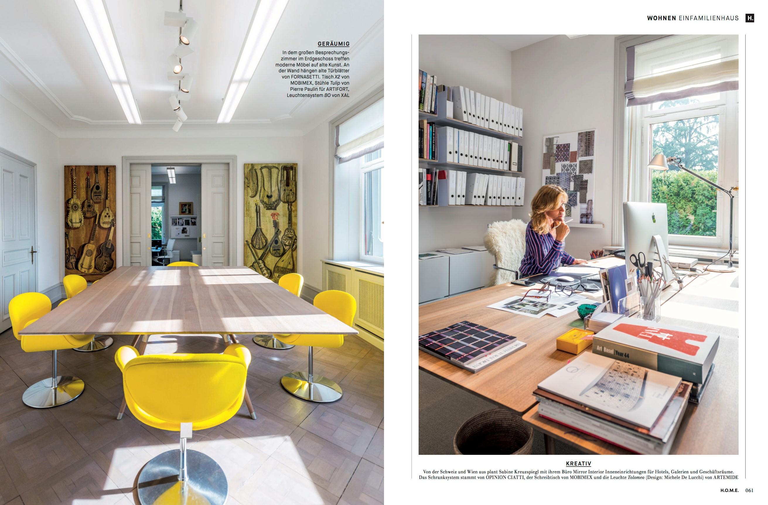 Interiordesignerin Sabine Kreuzspiel
