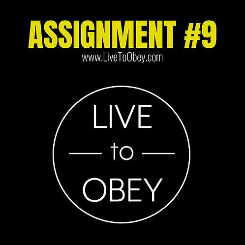 Assignment #9
