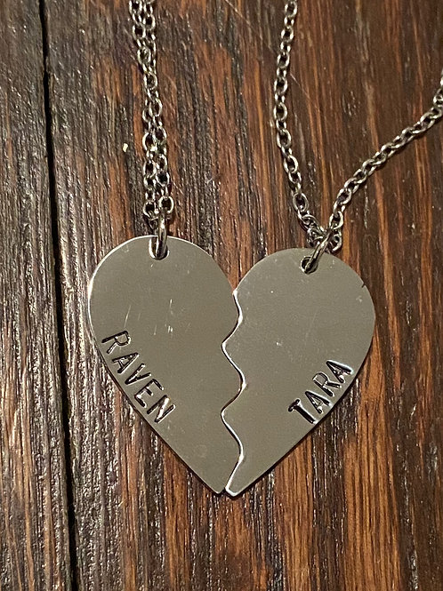 Raven and Tara BFF Necklace #1