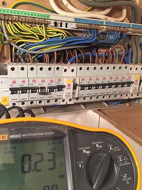 electric fuse board