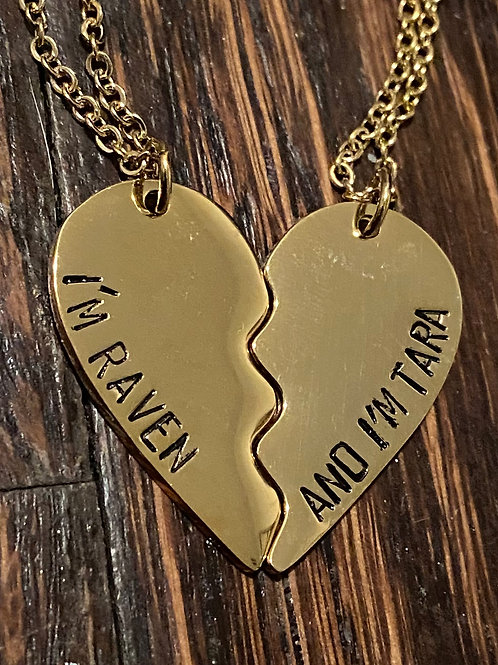 Raven and Tara BFF Necklace #2