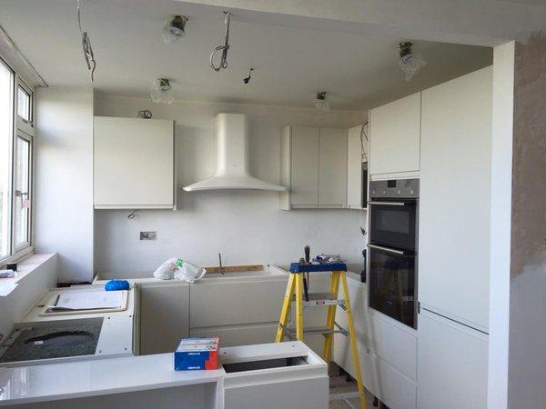 Kitchen refurb underway