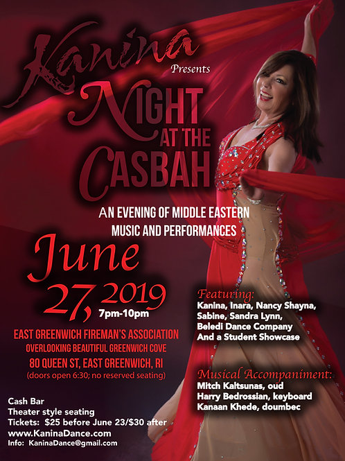Night at the Casbah 2019