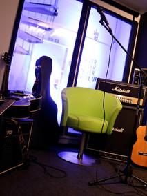 Rehearsal room set up