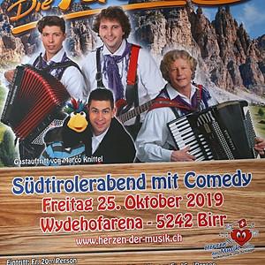 Südtirolerabend mit Comedy