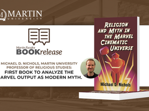 Michael D. Nichols, Martin University Professor of Religious Studies Release First Book of its Kind