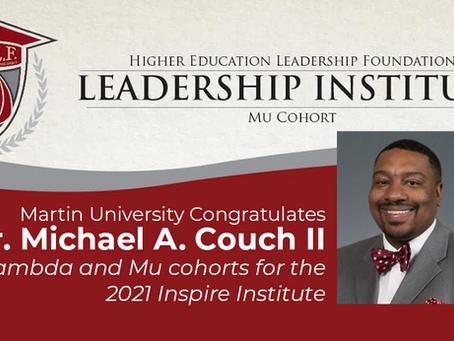Martin University Congratulates Dr. Michael A. Couch II