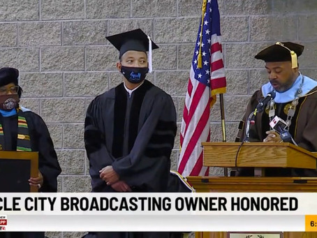 WISH-TV owner DuJuan McCoy honored by Martin University