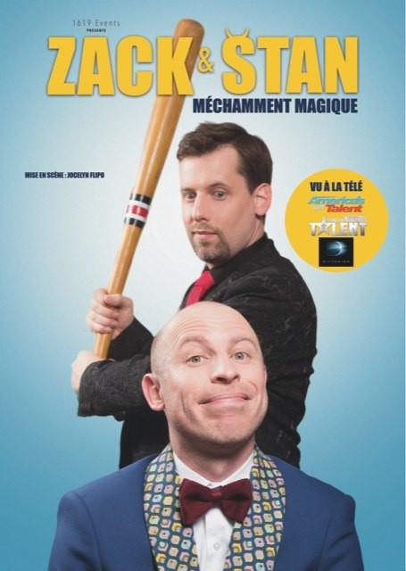 1ère Partie de Zack & Stan, Méchamment Magique au Théâtre du Rhône à Valence le 26 Janvier 2020