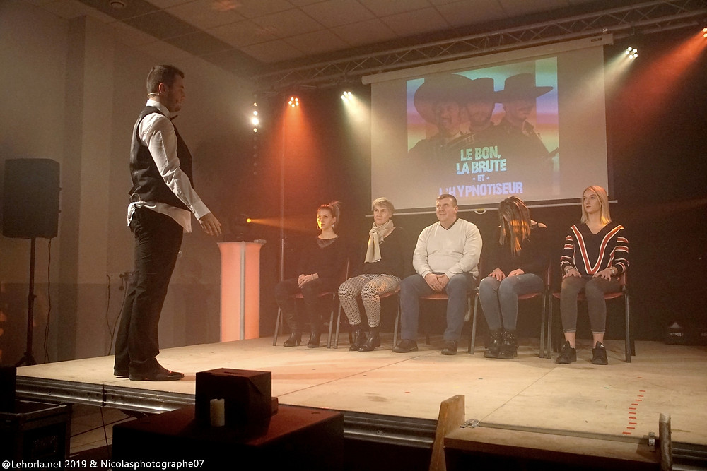 Sirius Hypno revisite la TV La Coucourde 2019